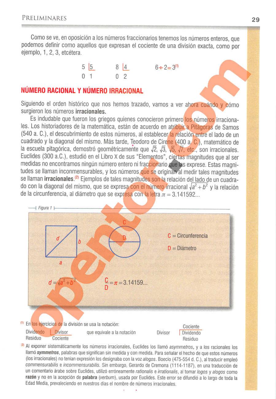 Álgebra de Baldor - Página 29