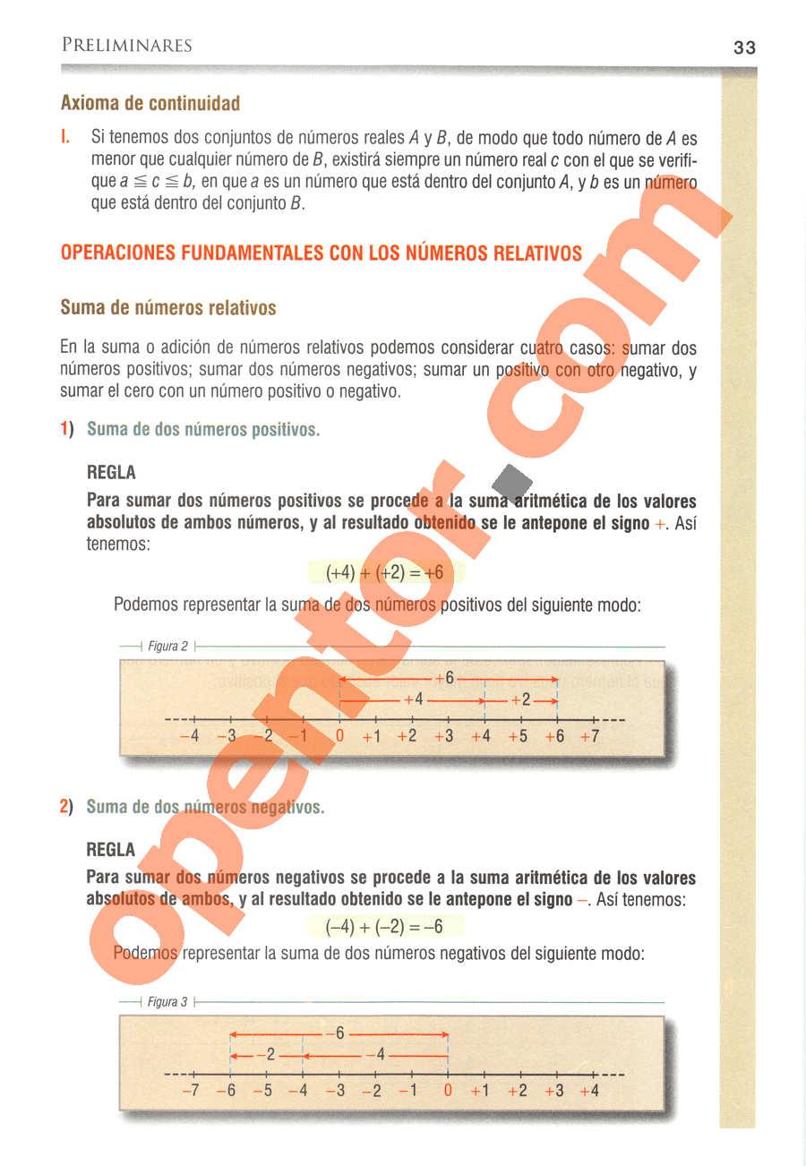 Álgebra de Baldor - Página 33