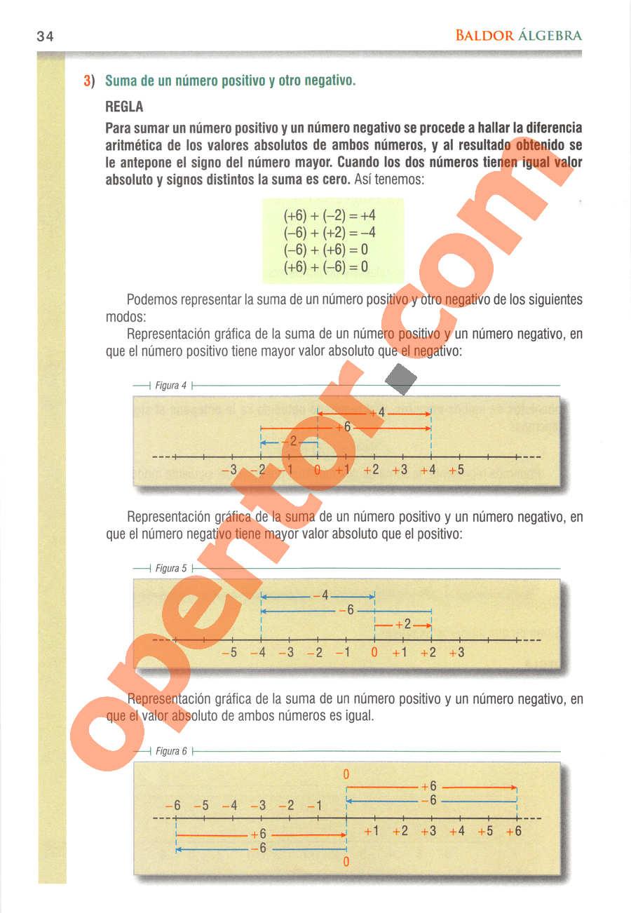 Álgebra de Baldor - Página 34