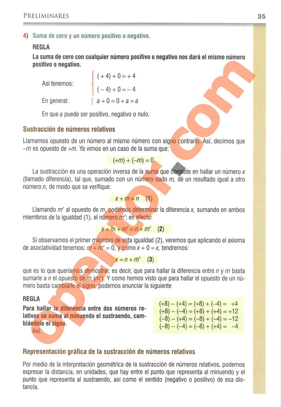 Álgebra de Baldor - Página 35