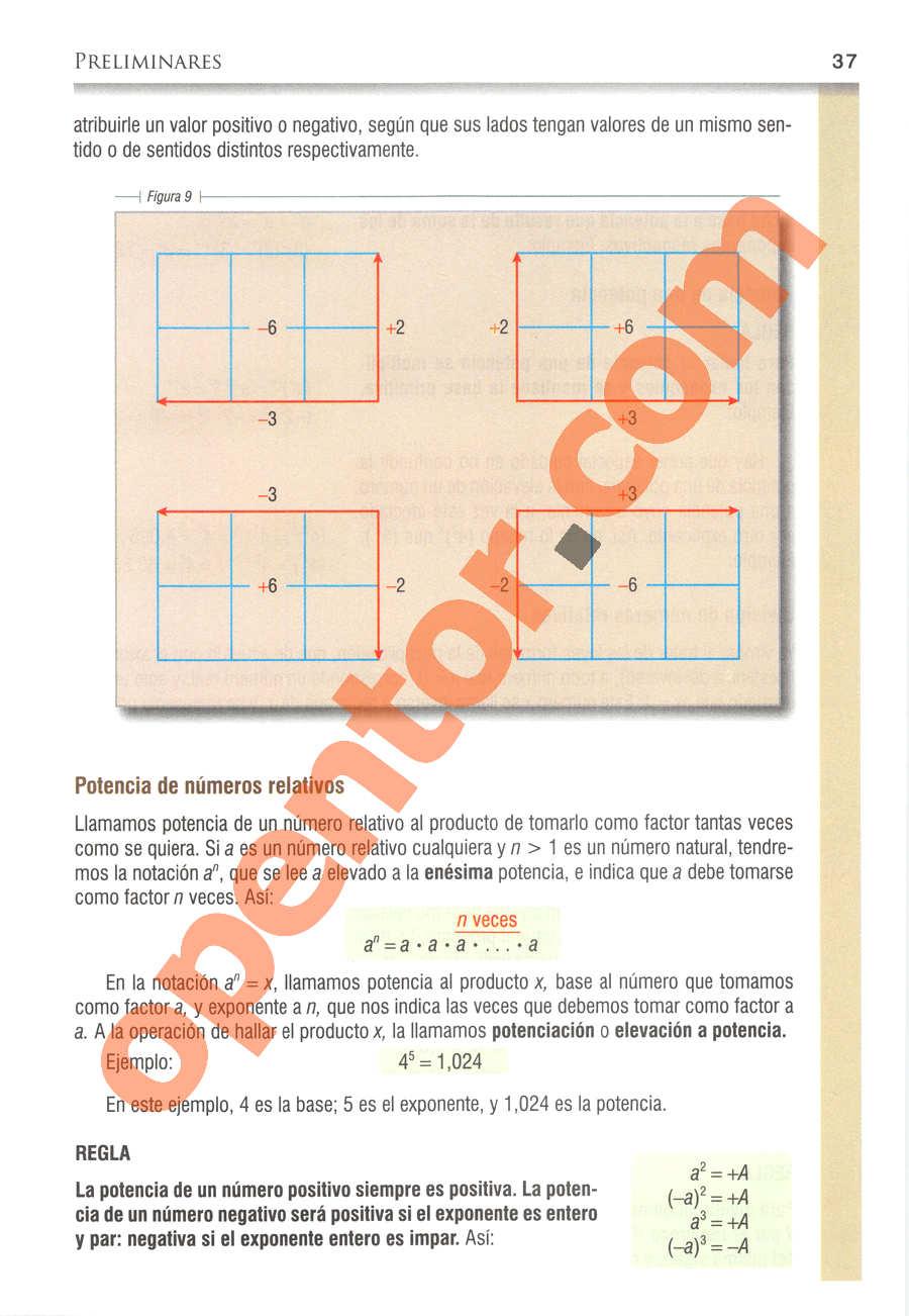 Álgebra de Baldor - Página 37