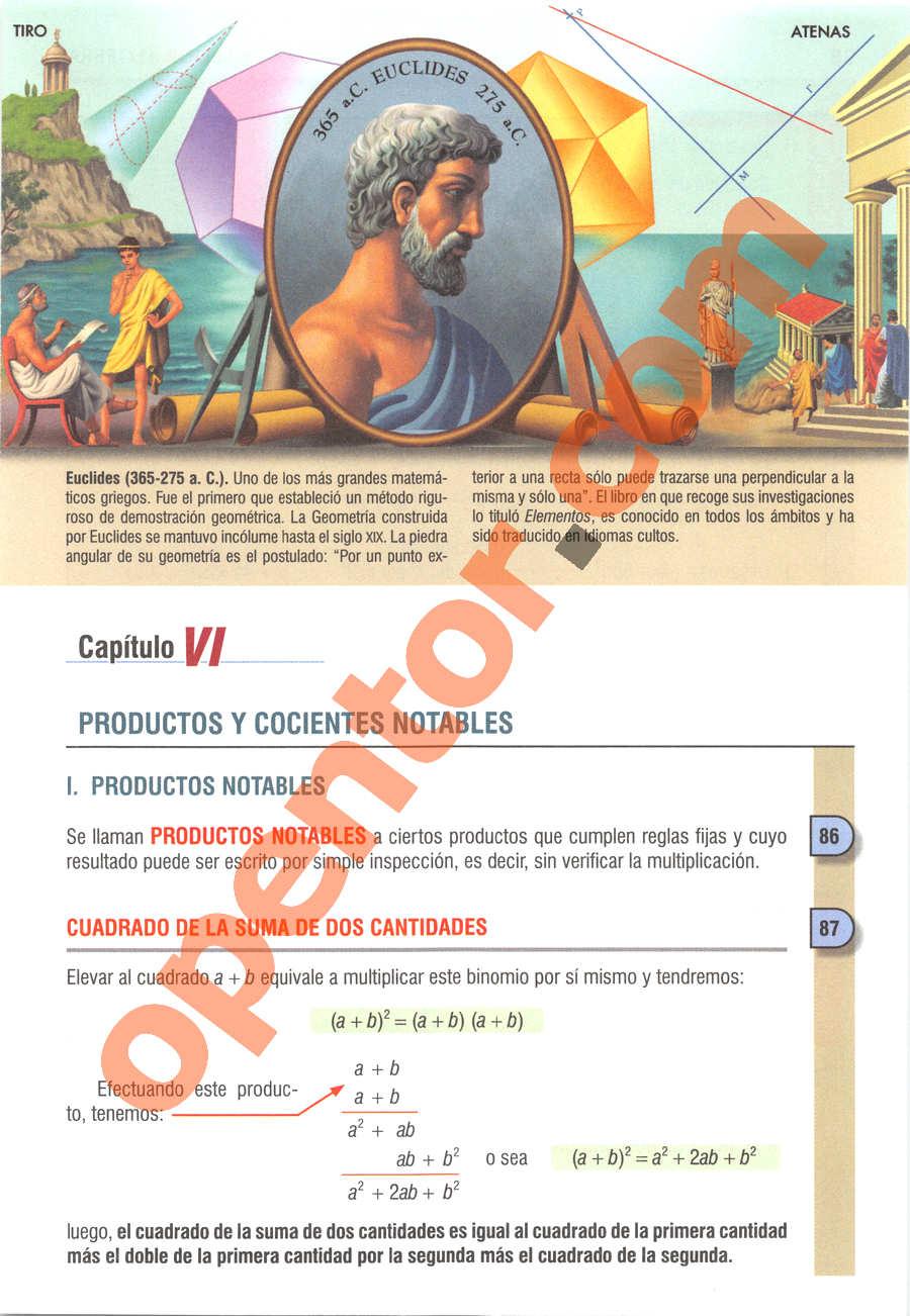 Álgebra de Baldor - Página 97