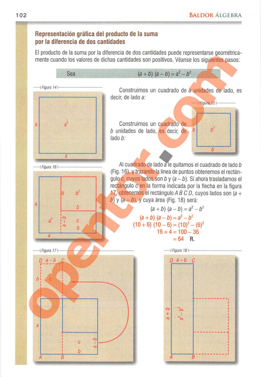 Álgebra de Baldor - Página 102