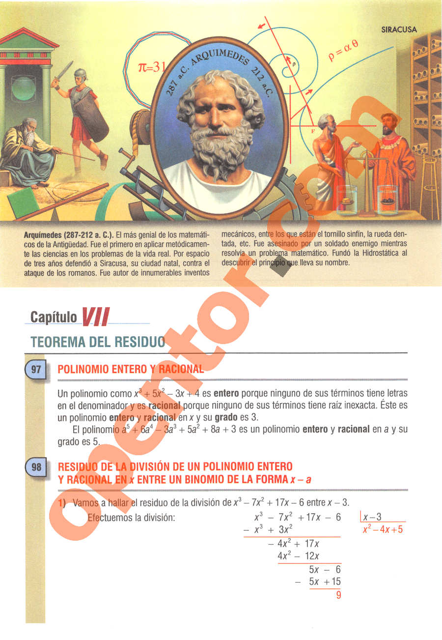 Álgebra de Baldor - Página 112