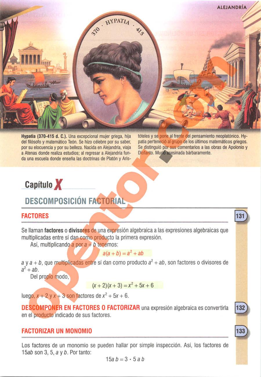 Álgebra de Baldor - Página 143