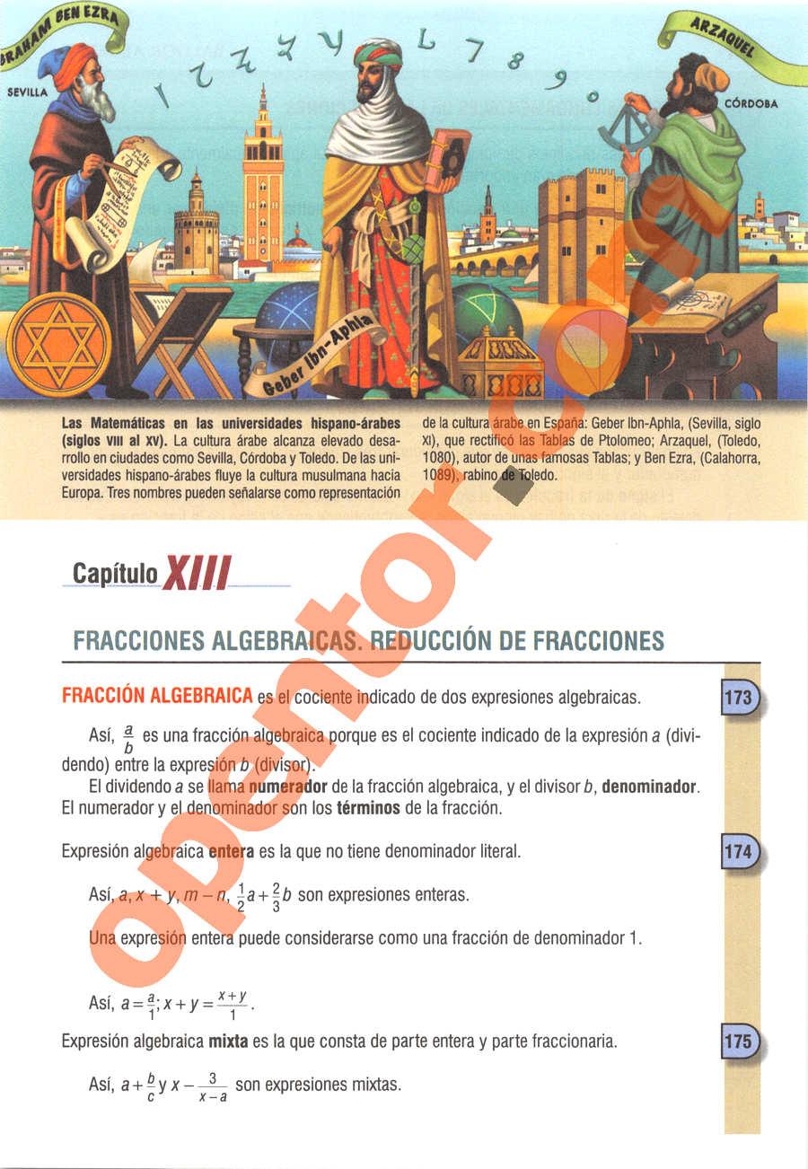 Álgebra de Baldor - Página 193