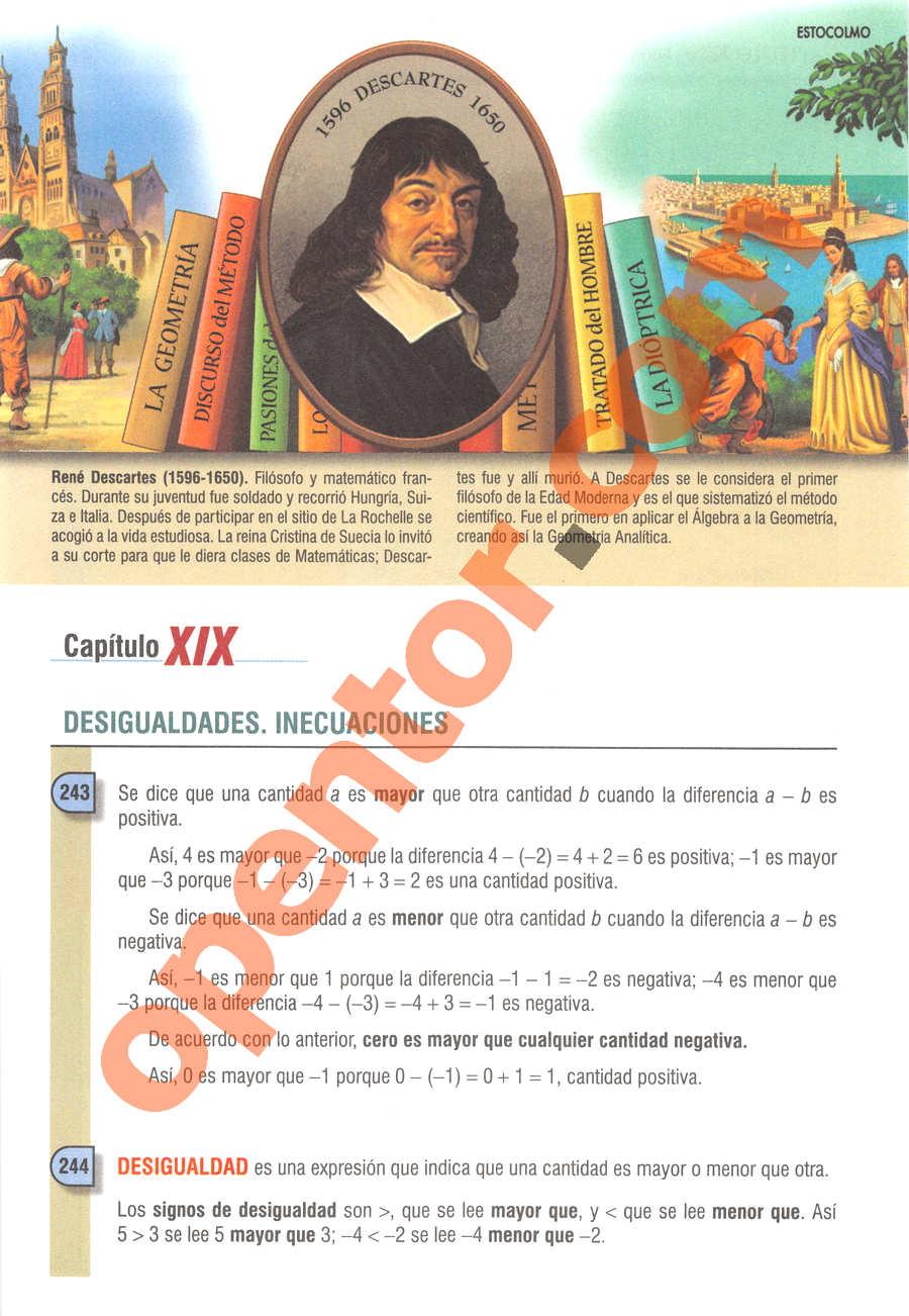 Álgebra de Baldor - Página 276