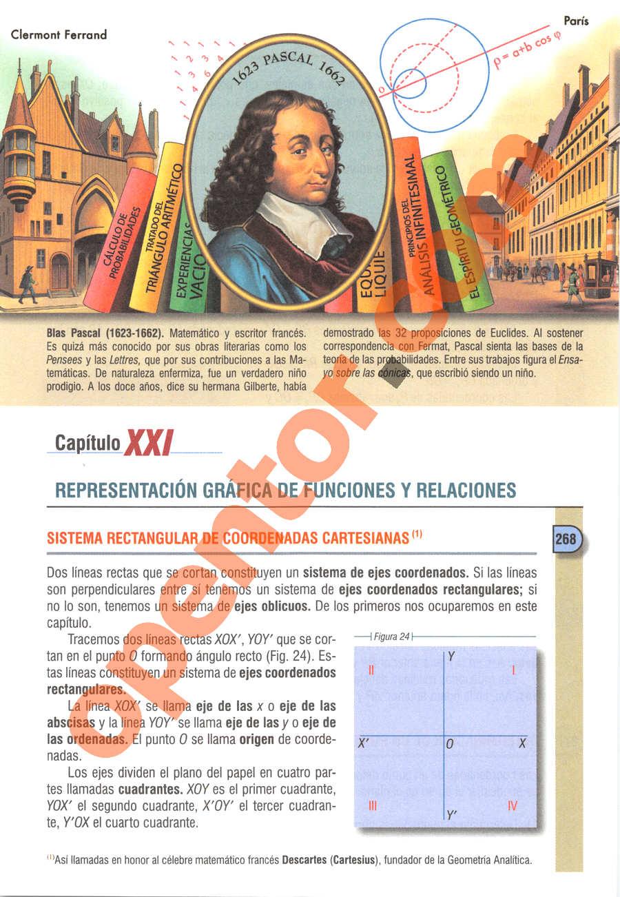 Álgebra de Baldor - Página 291