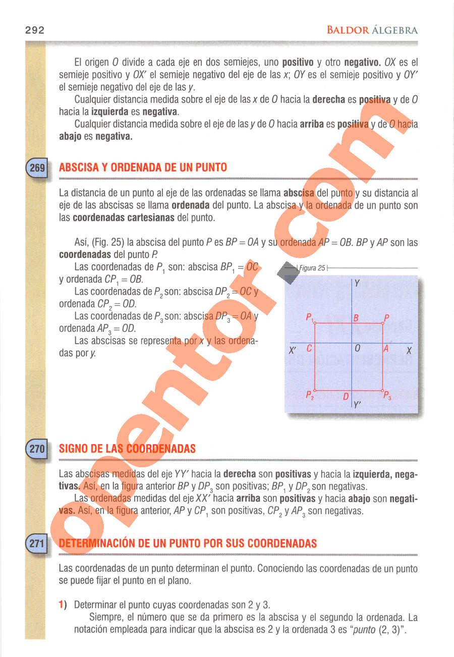 Álgebra de Baldor - Página 292