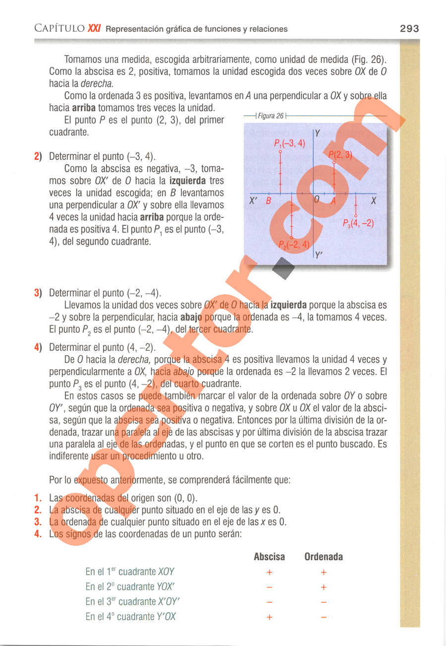Álgebra de Baldor - Página 293