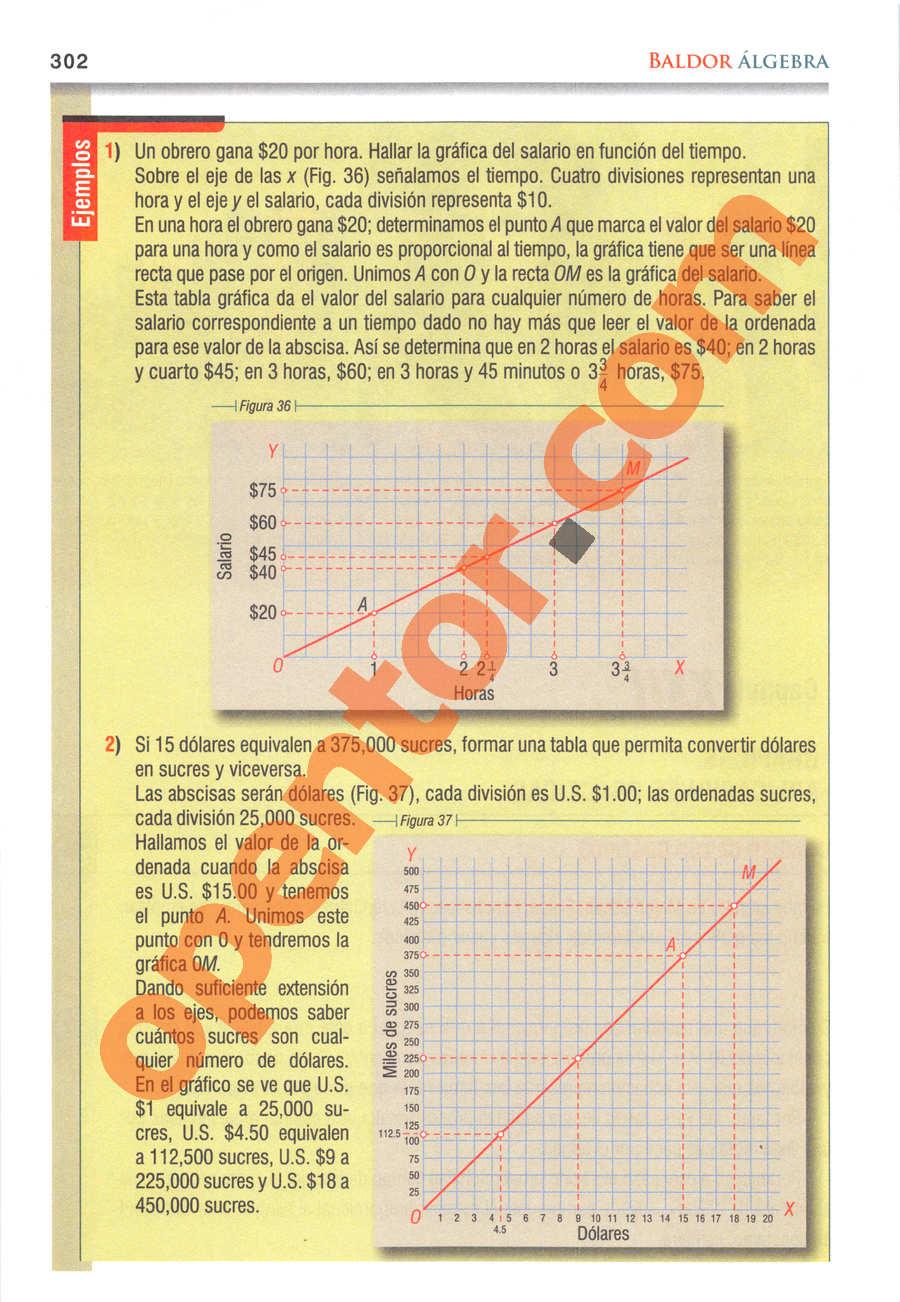 Álgebra de Baldor - Página 302