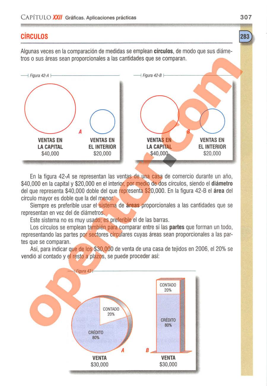 Álgebra de Baldor - Página 307
