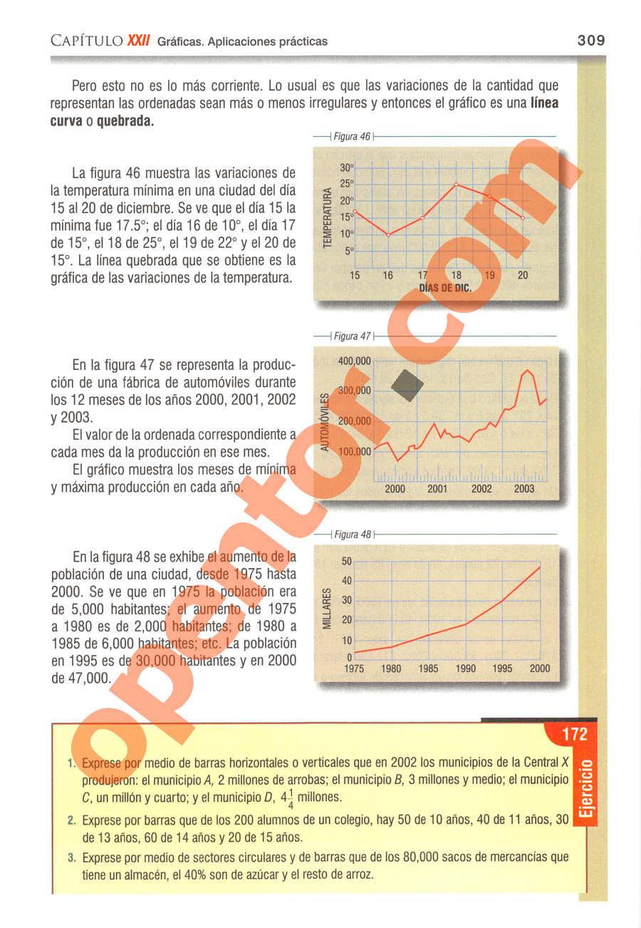 Álgebra de Baldor - Página 309