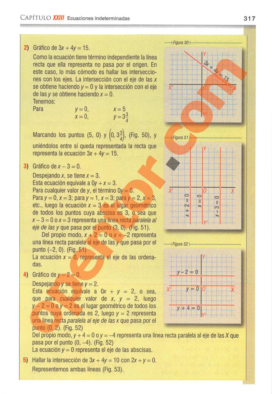 Álgebra de Baldor - Página 317