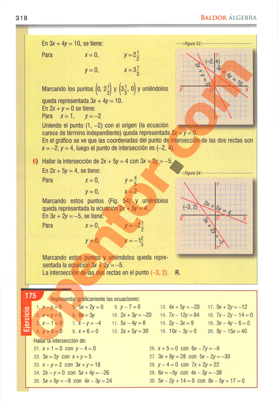 Álgebra de Baldor - Página 318