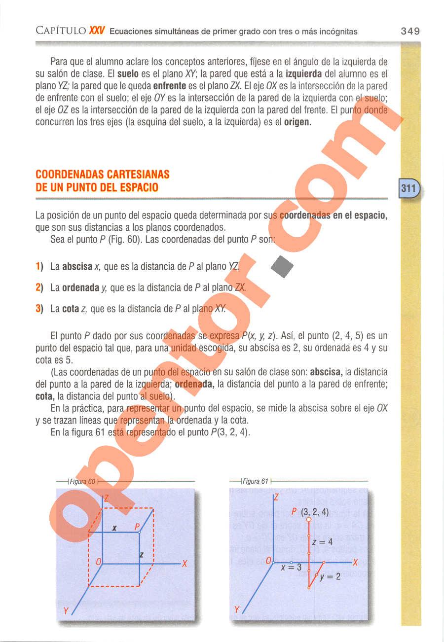 Álgebra de Baldor - Página 349