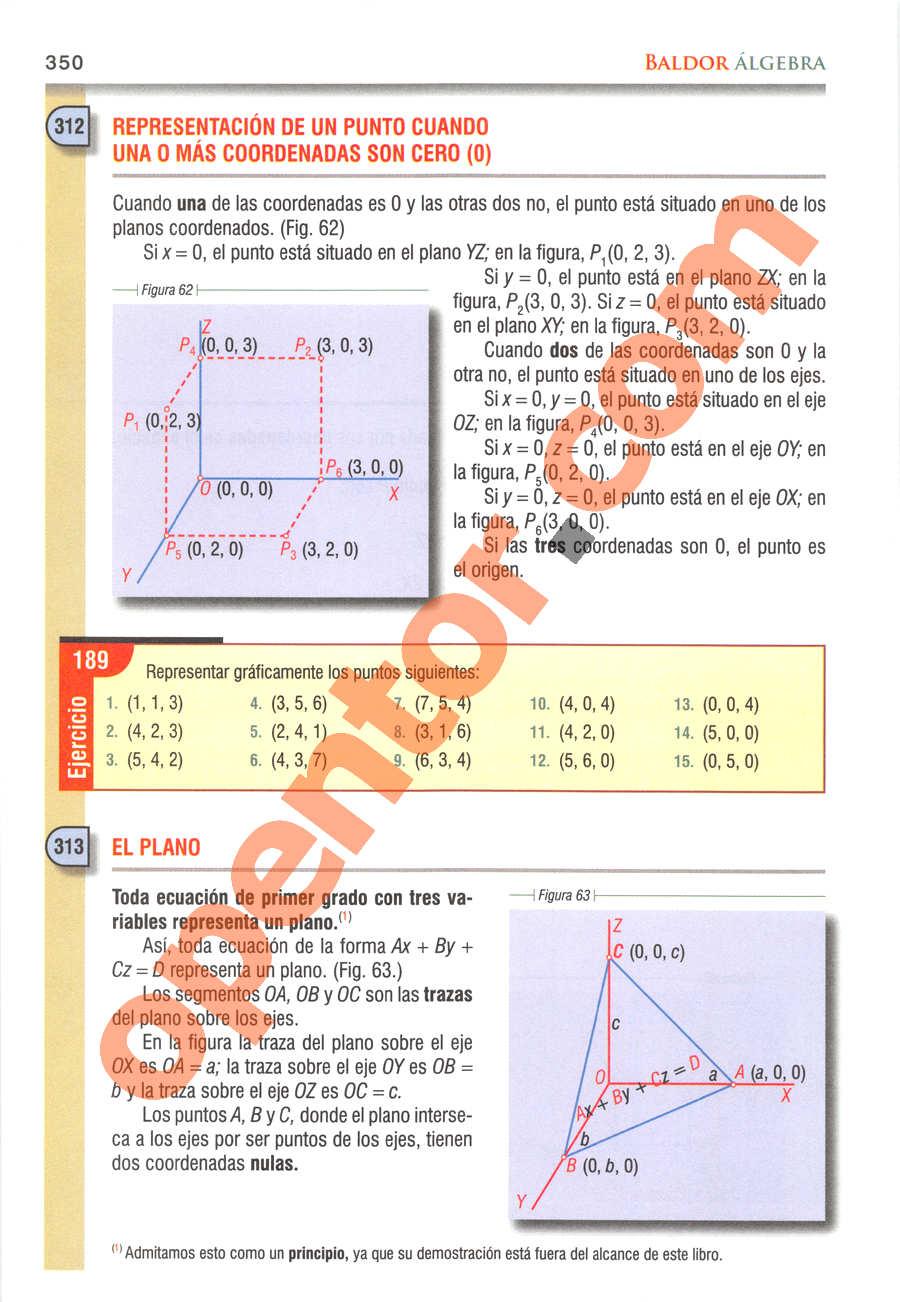 Álgebra de Baldor - Página 350