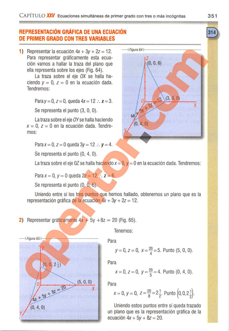 Álgebra de Baldor - Página 351