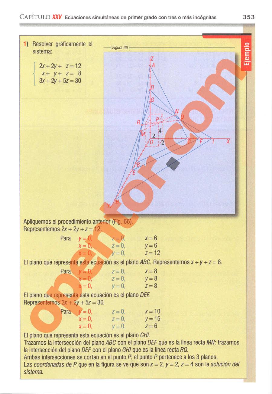 Álgebra de Baldor - Página 353