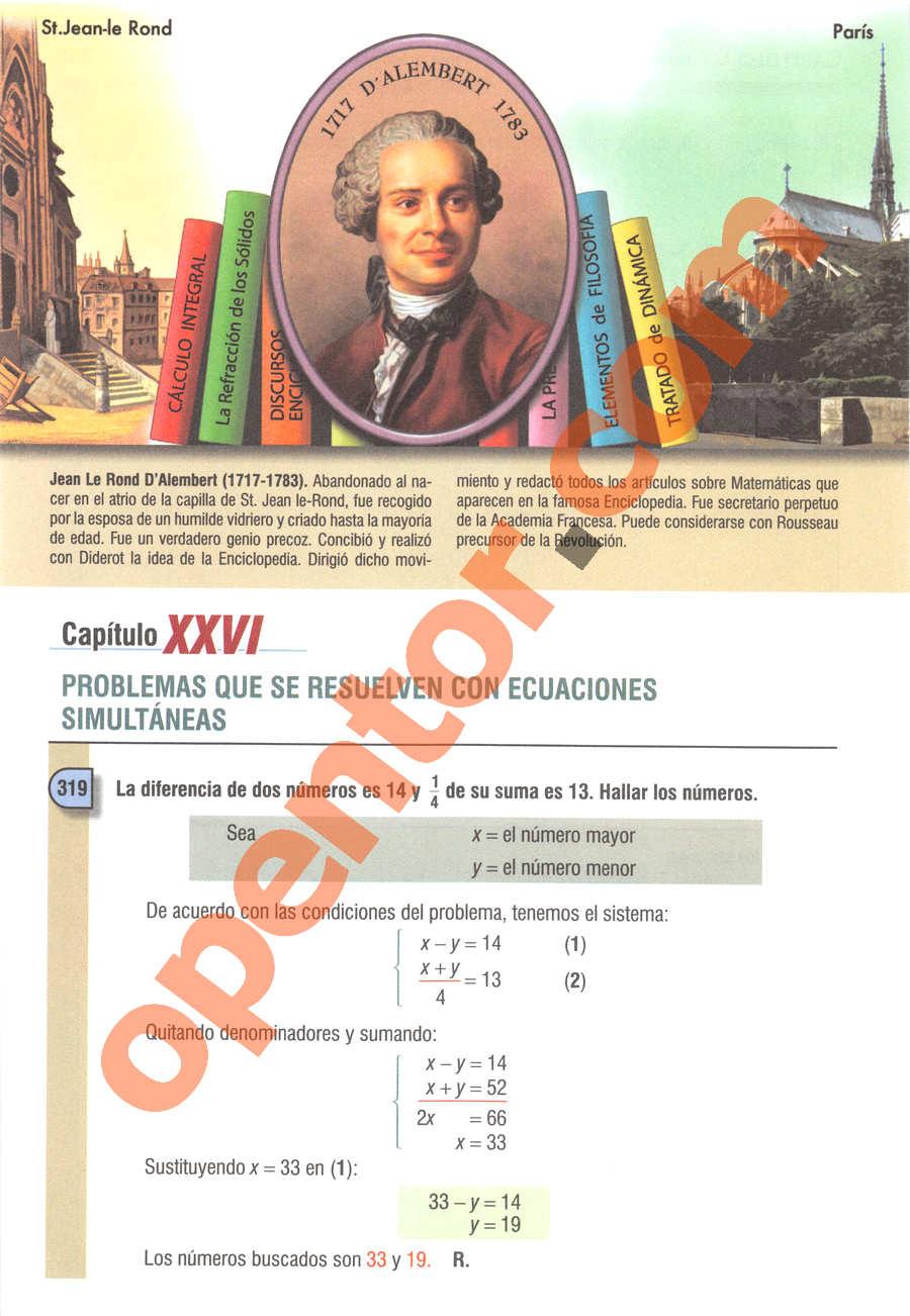 Álgebra de Baldor - Página 356