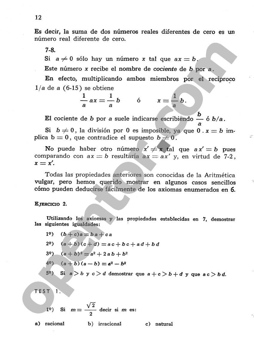 Álgebra de Mancil 1 - Página 12