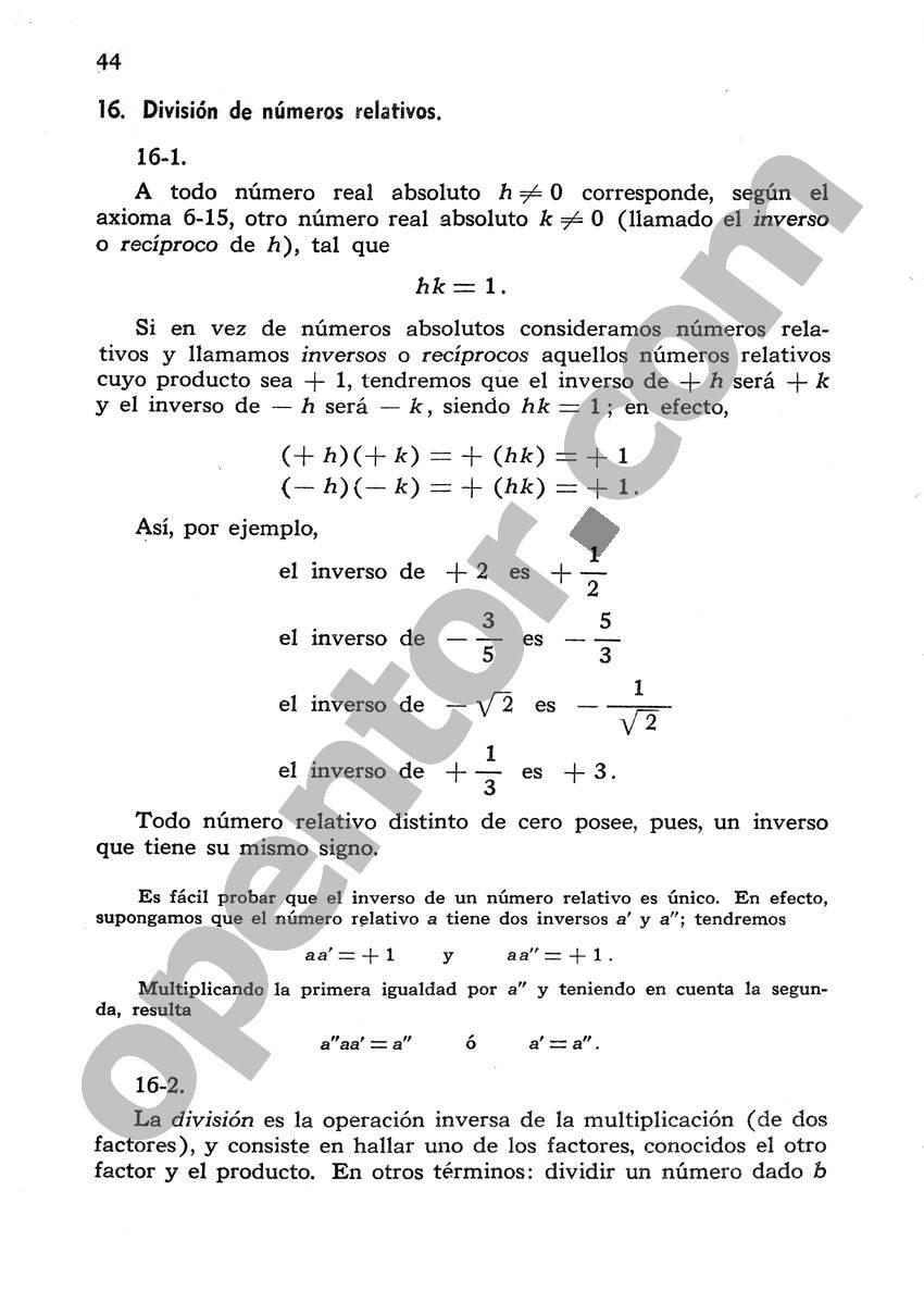 Álgebra de Mancil 1 - Página 44
