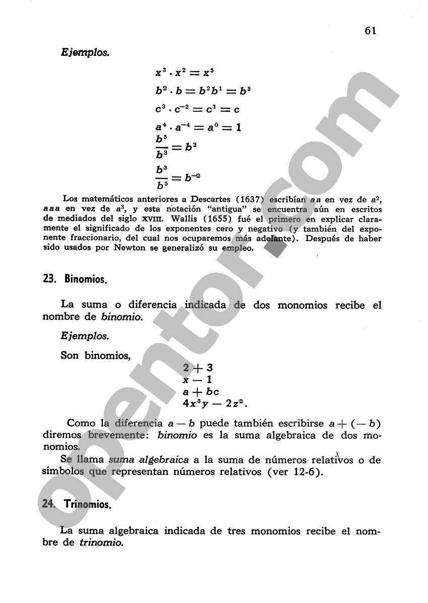 Álgebra de Mancil 1 - Página 61
