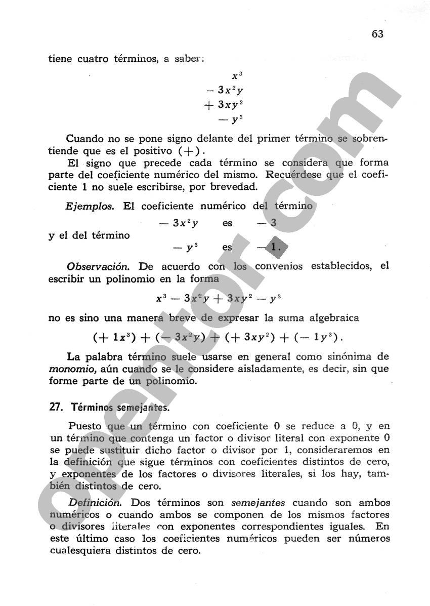 Álgebra de Mancil 1 - Página 63