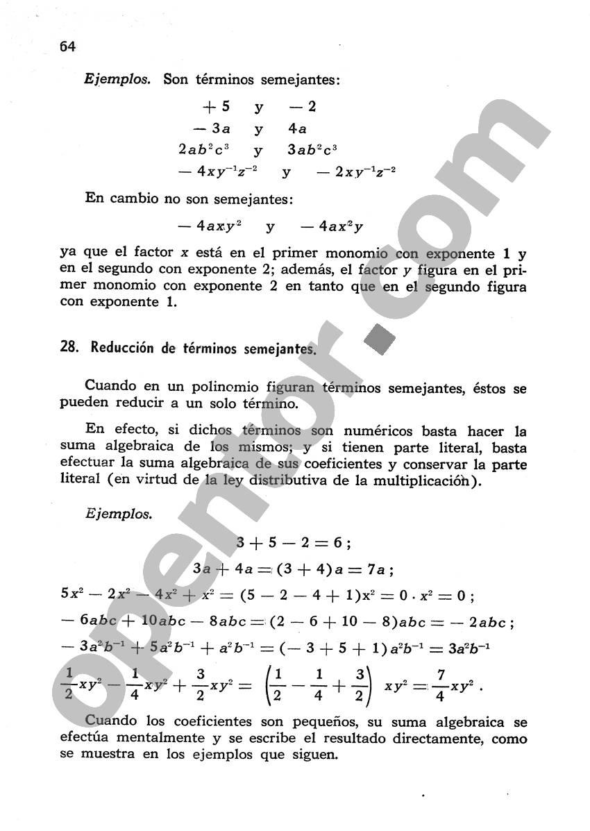 Álgebra de Mancil 1 - Página 64