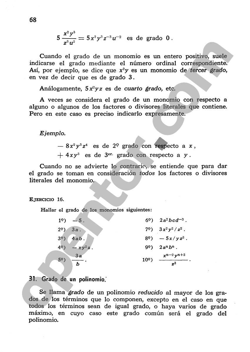 Álgebra de Mancil 1 - Página 68