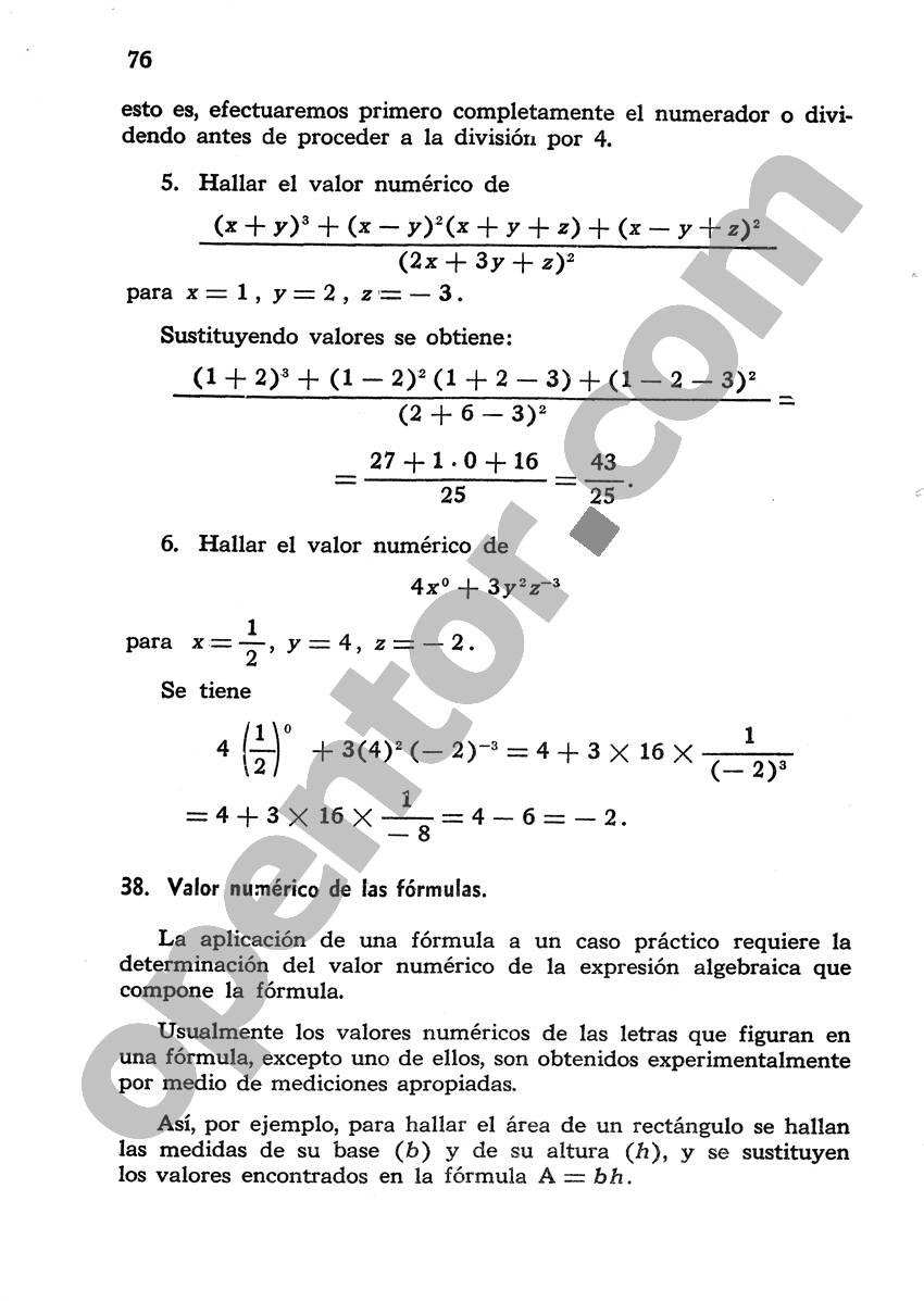 Álgebra de Mancil 1 - Página 76