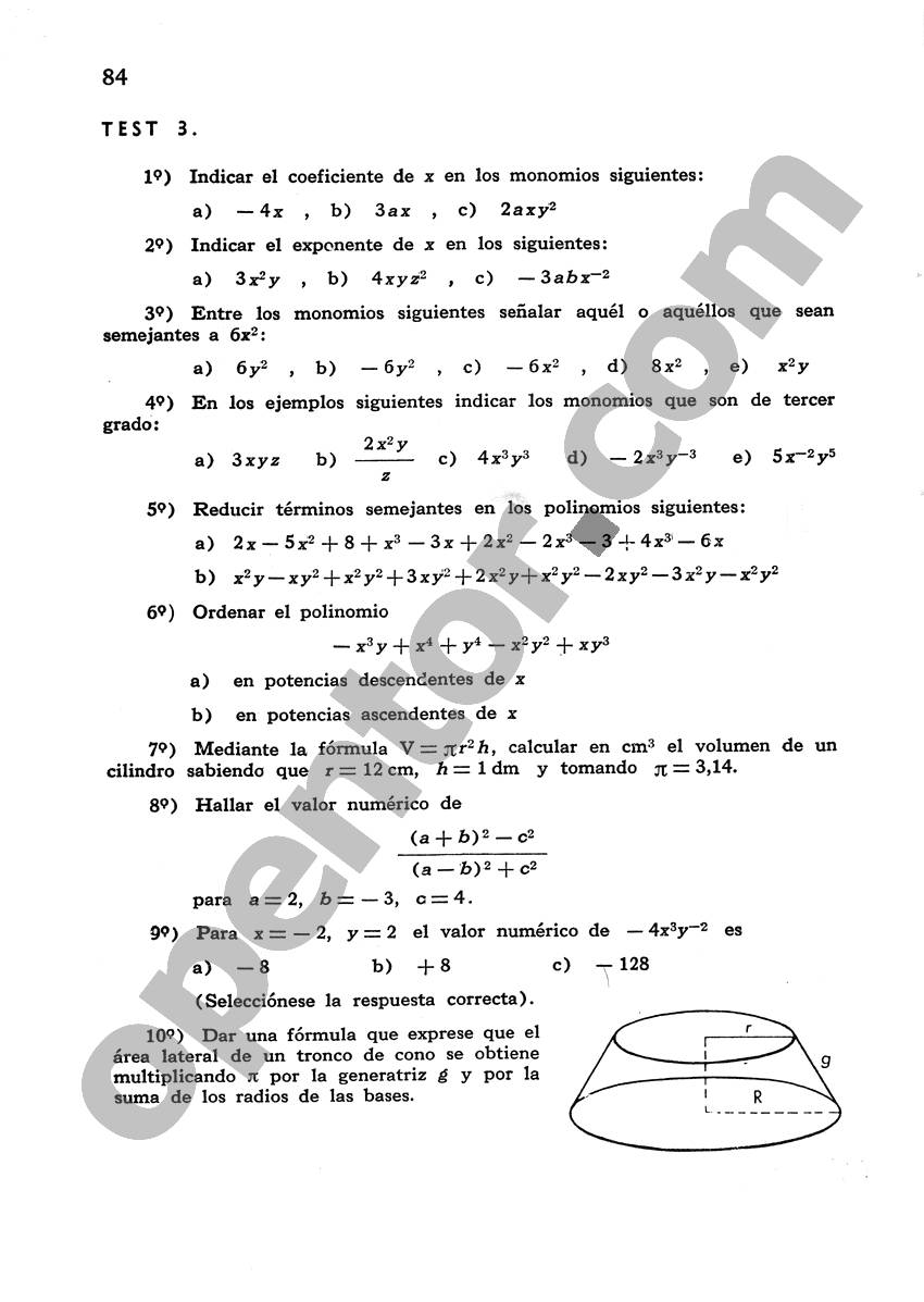 Álgebra de Mancil 1 - Página 84