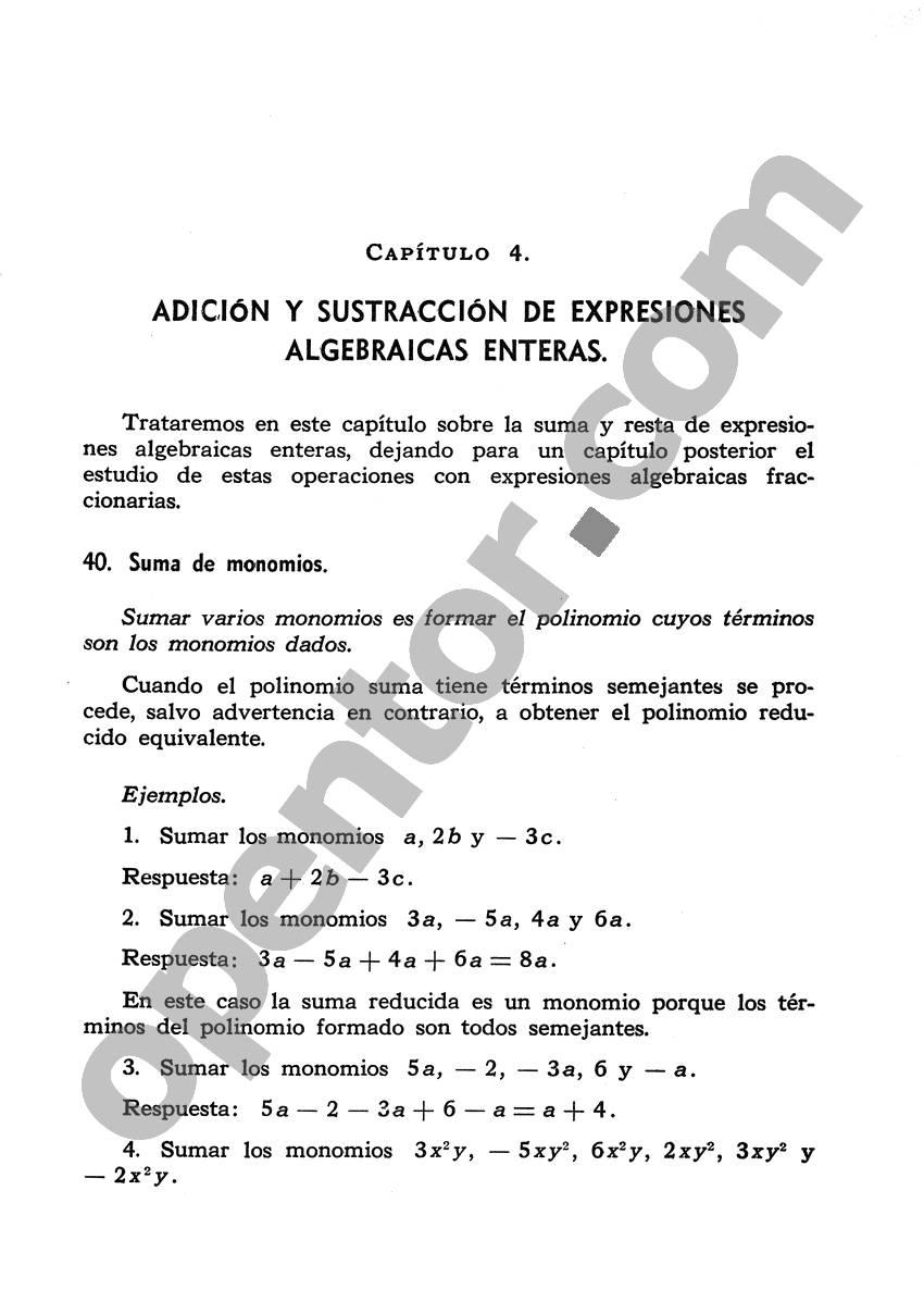 Álgebra de Mancil 1 - Página 85