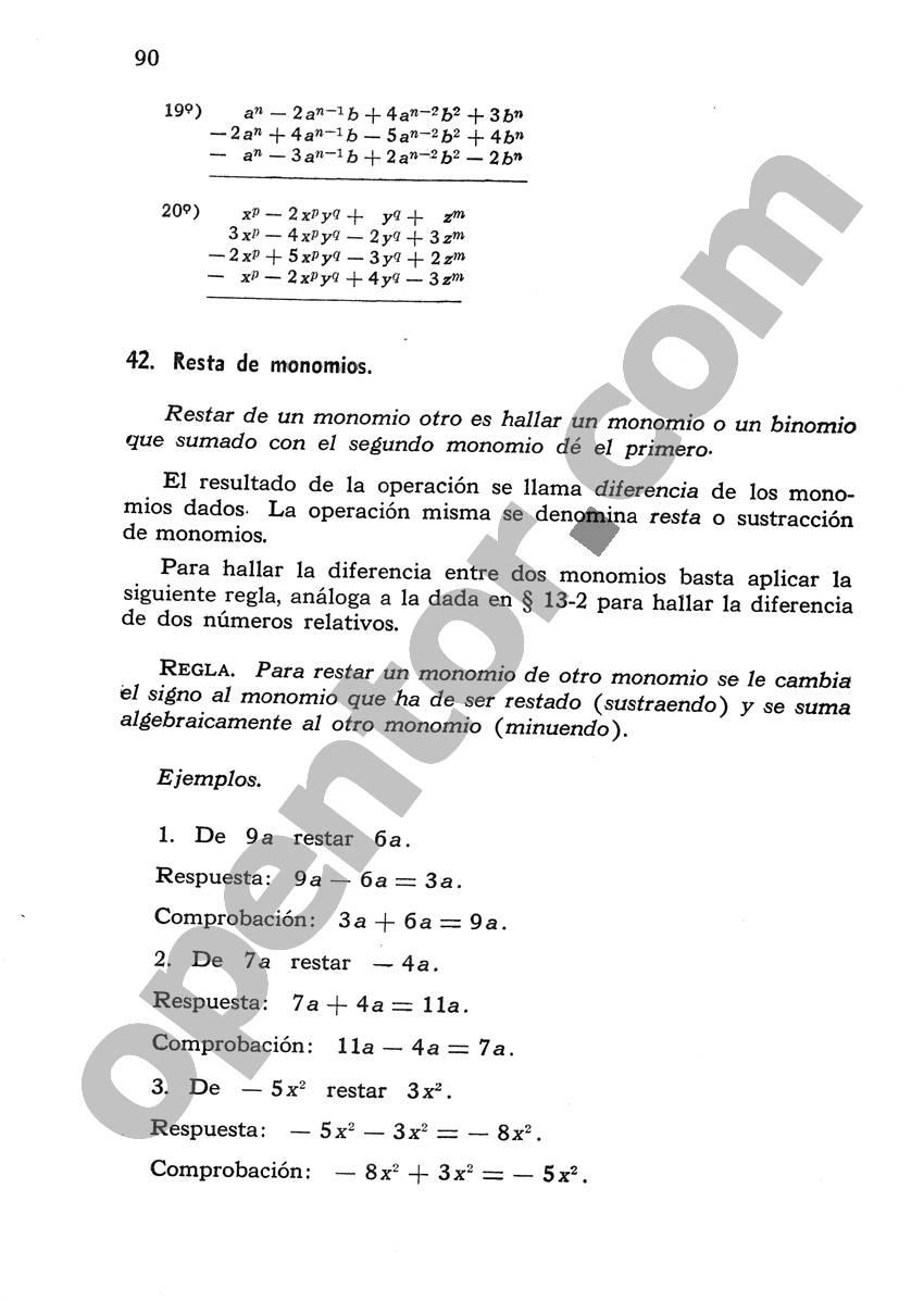 Álgebra de Mancil 1 - Página 90