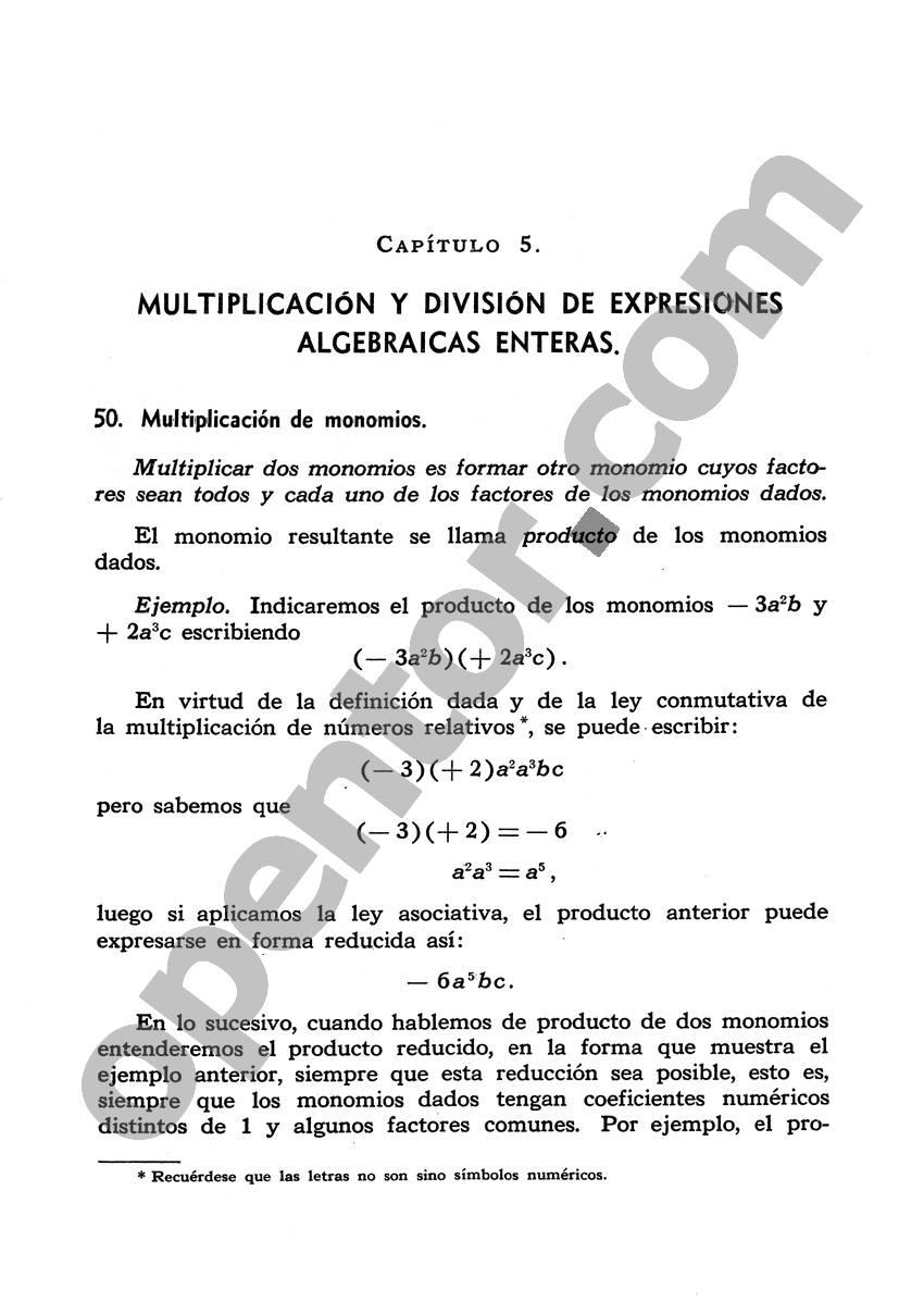 Álgebra de Mancil 1 - Página 109