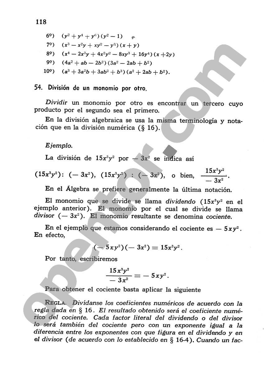 Álgebra de Mancil 1 - Página 118