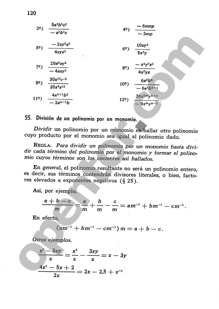 Álgebra de Mancil 1 - Página 120