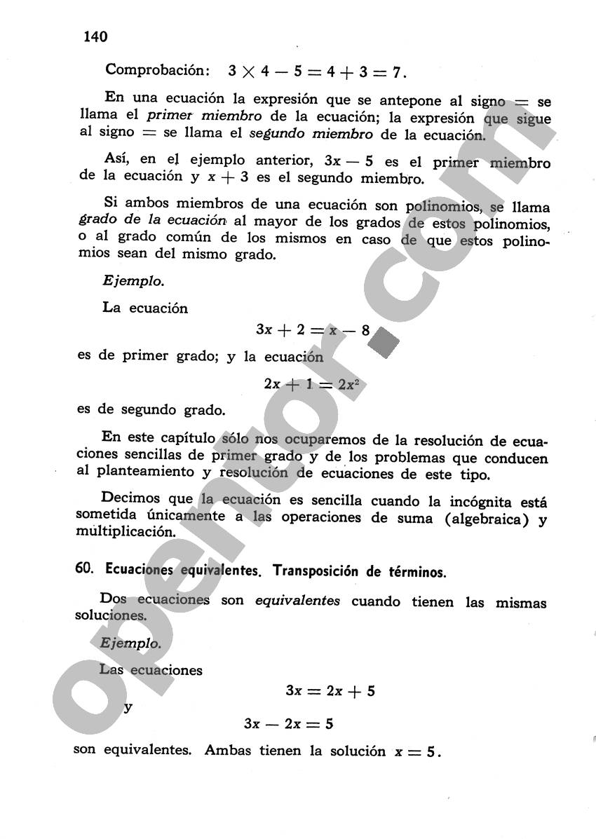 Álgebra de Mancil 1 - Página 140
