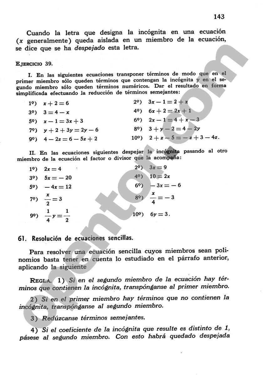 Álgebra de Mancil 1 - Página 143