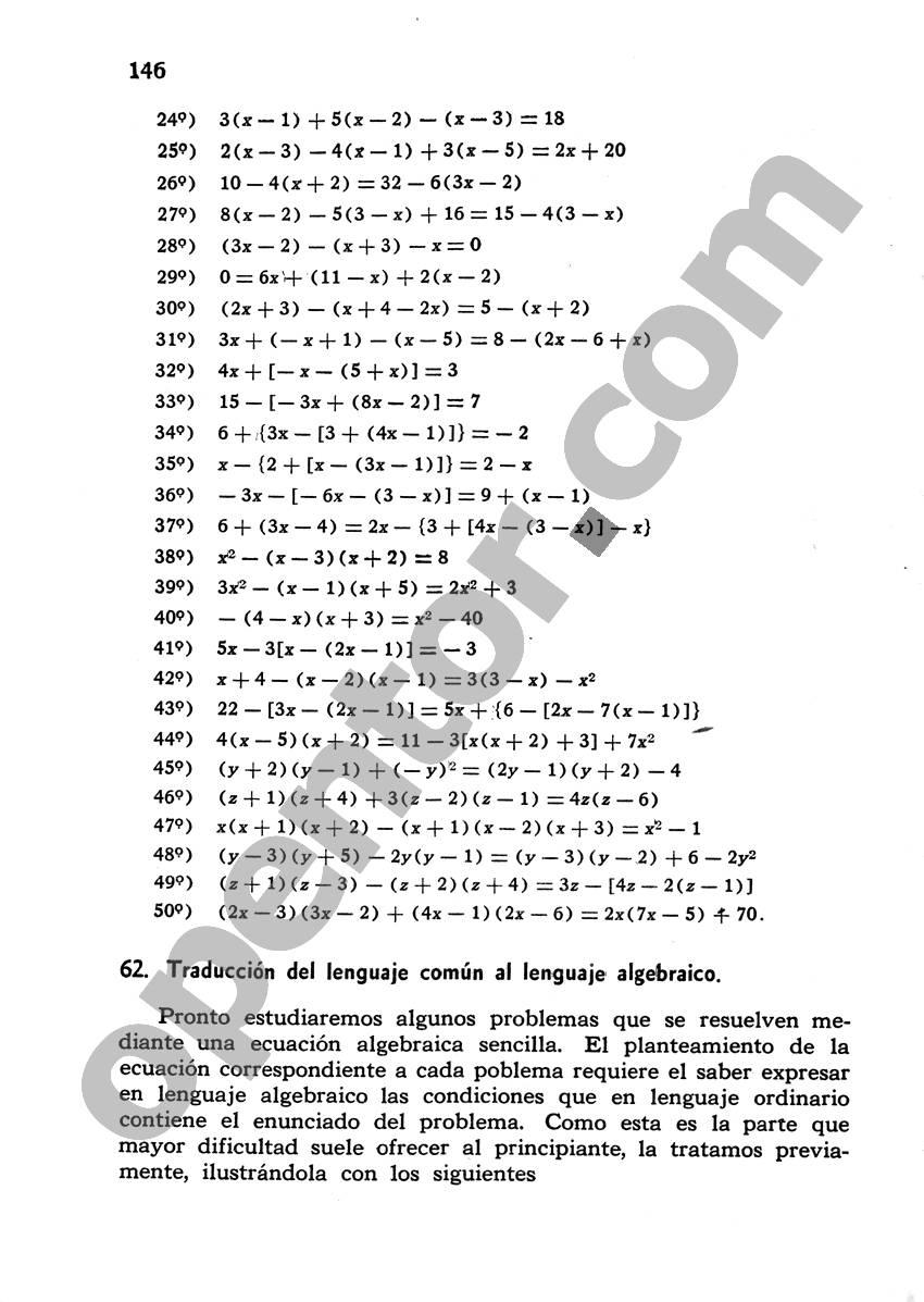 Álgebra de Mancil 1 - Página 146