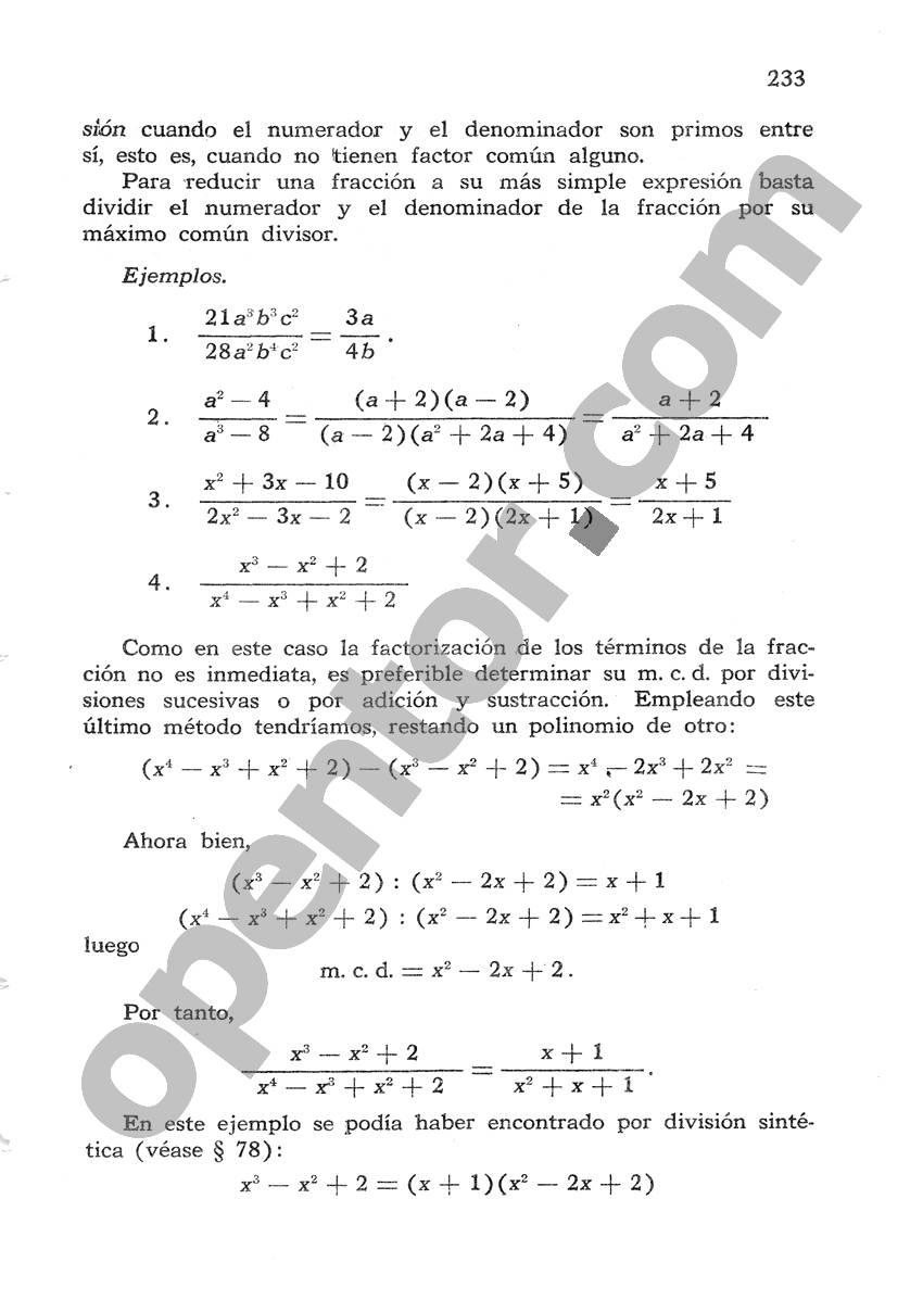 Álgebra de Mancil 1 - Página 233