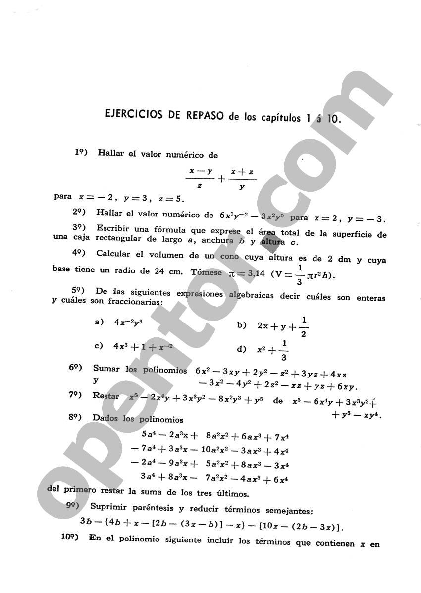 Álgebra de Mancil 1 - Página 268