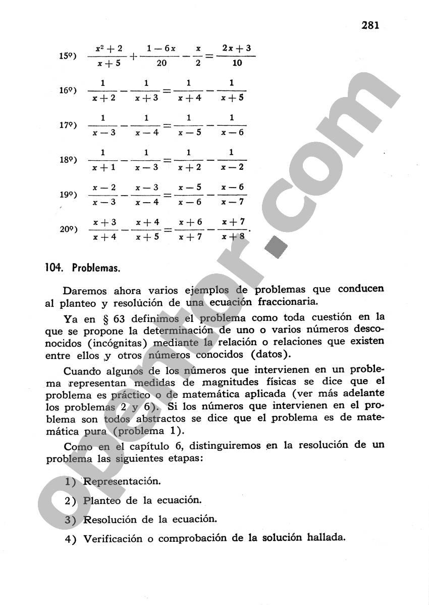 Álgebra de Mancil 1 - Página 281