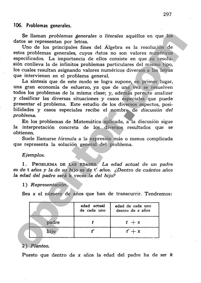 Álgebra de Mancil 1 - Página 297