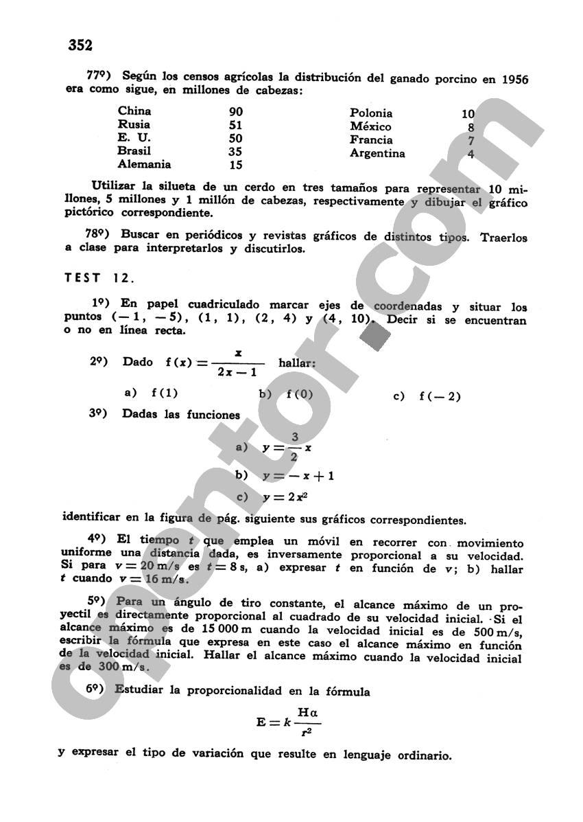 Álgebra de Mancil 1 - Página 352