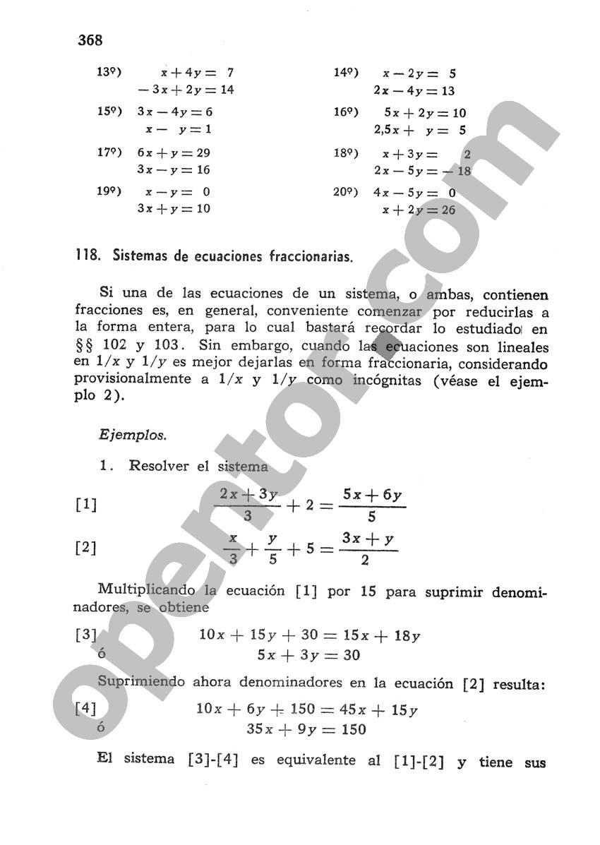 Álgebra de Mancil 1 - Página 368
