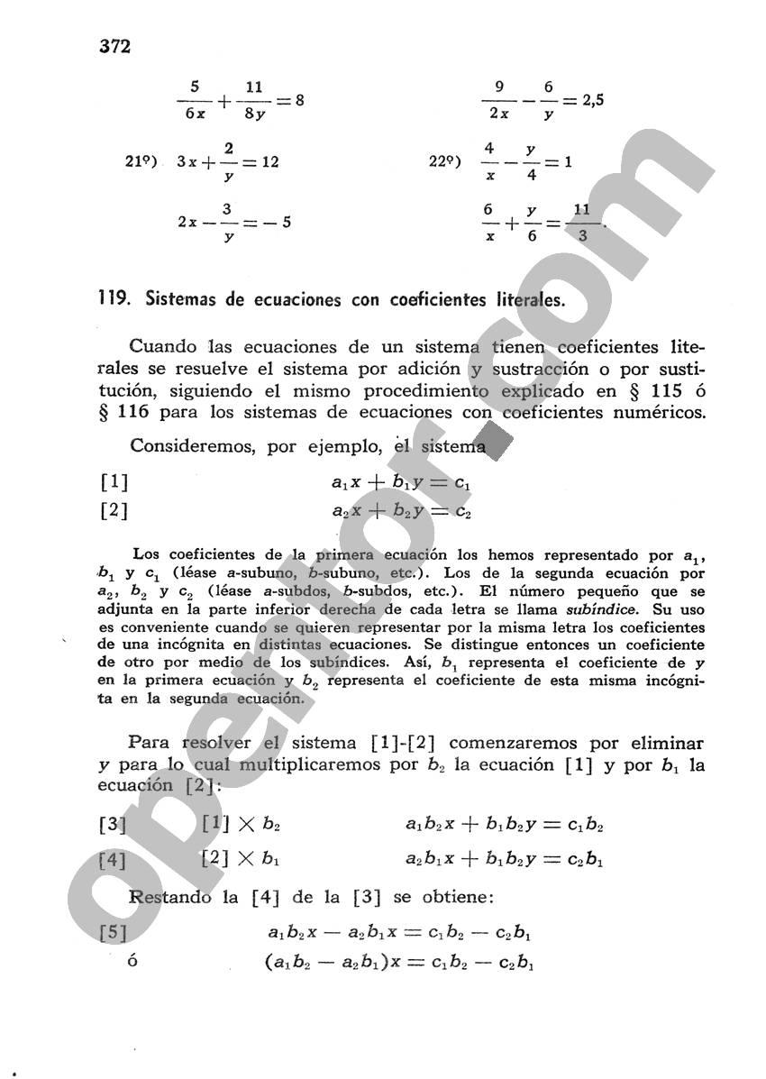Álgebra de Mancil 1 - Página 372