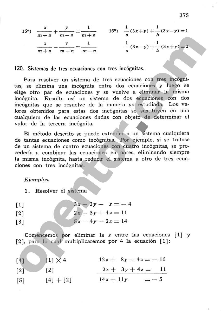 Álgebra de Mancil 1 - Página 375
