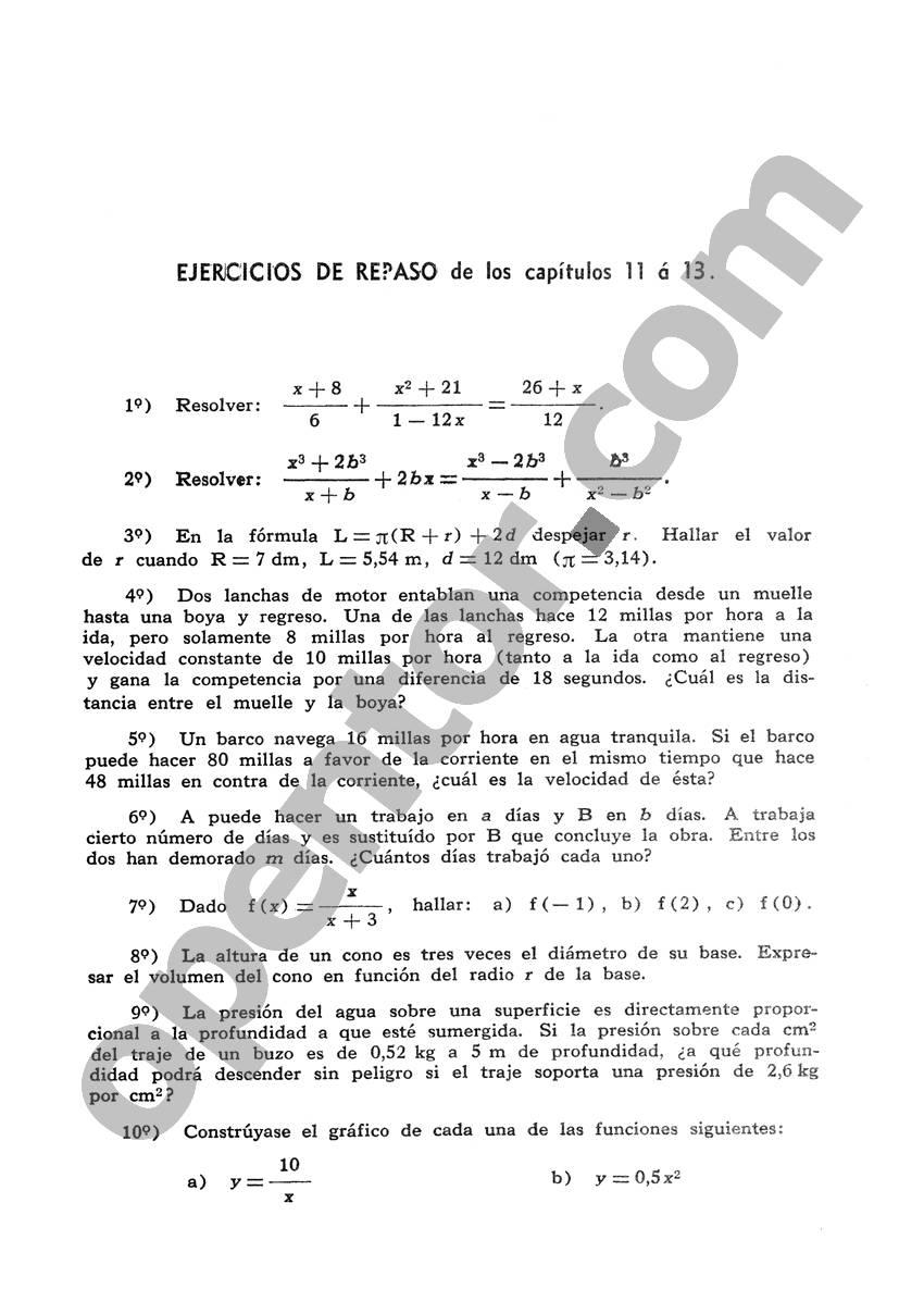 Álgebra de Mancil 1 - Página 409