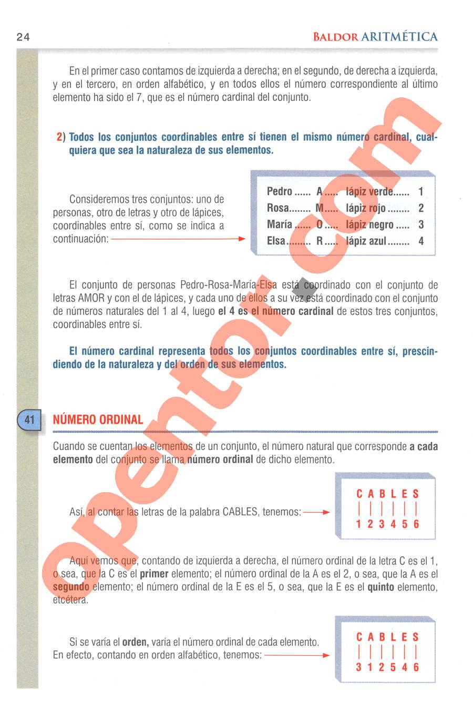 Aritmética de Baldor - Página 24